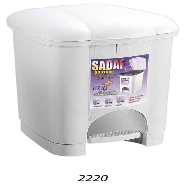 سطل پدالی صدف3 کد(2220)