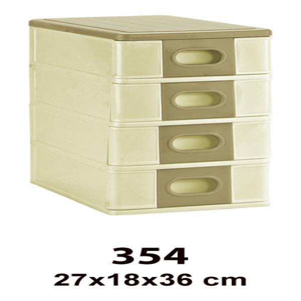 جعبه همه کاره 4 طبقه کد(354)