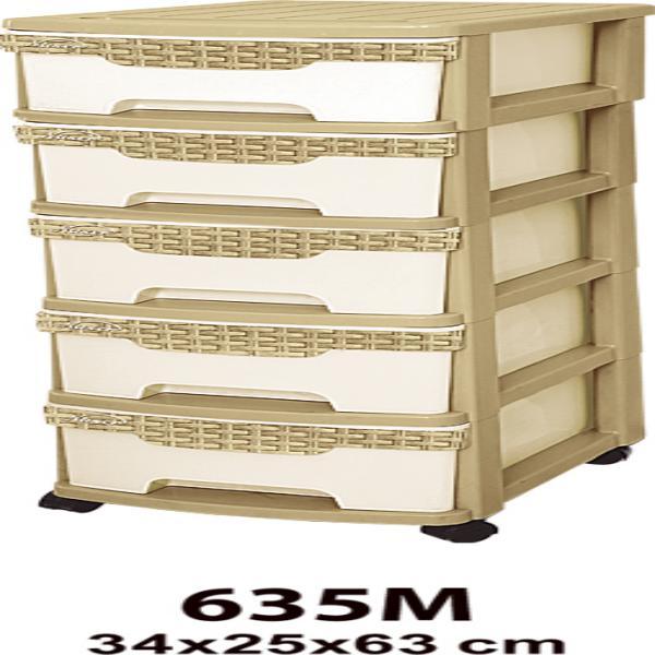 فایل 5 طبقه ساده M کد(635)