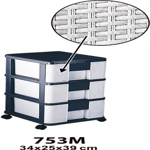 فایل 3 طبقه حصیر بافت M A4